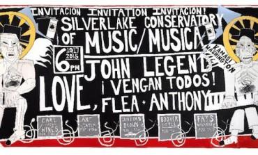 John Legend and Kamasi Washington w/Red Hot Chili Peppers @ Silverlake Conservatory of Music Benefit Gala 10/17
