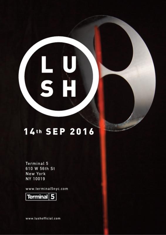 lush event flyer