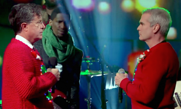 "WATCH: Stephen Colbert And Henry Rollins Perform ""Carol Of The Bells"""