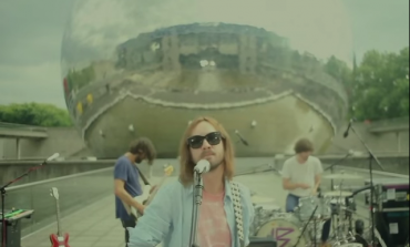 """WATCH: Tame Impala Perform """"Let It Happen"""" In Front Of A Mirrored Dome"""