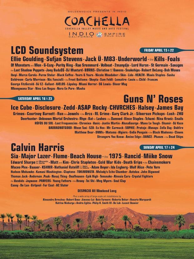 Coachella Poster 2016