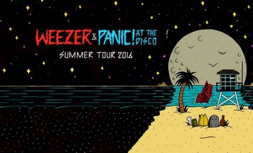 Weezer, Panic! at the Disco & Andrew McMahon in the Wilderness @ BB&T Pavillion 7/5