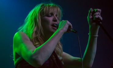 "Courtney Love Performed ""Celebrity Skin"" with 1,500 Musicians Live in Florence, Italy"
