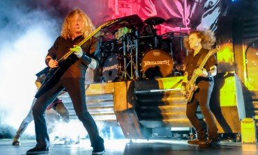 Hodor from Game of Thrones Showed Off His Guitar Skills Jamming with Megadeth Backstage