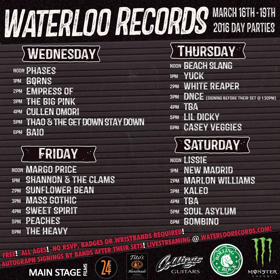 Waterloo Records SXSW
