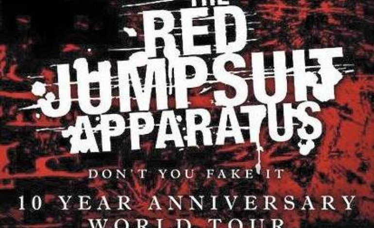 The Red Jumpsuit Apparatus at Come and Take It Live, on May 13th