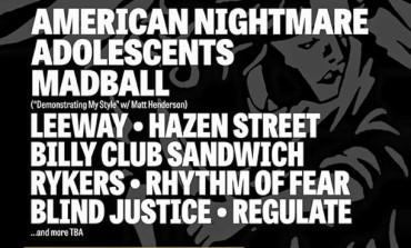 NYC Black N' Blue Bowl feat. American Nightmare @ Webster Hall
