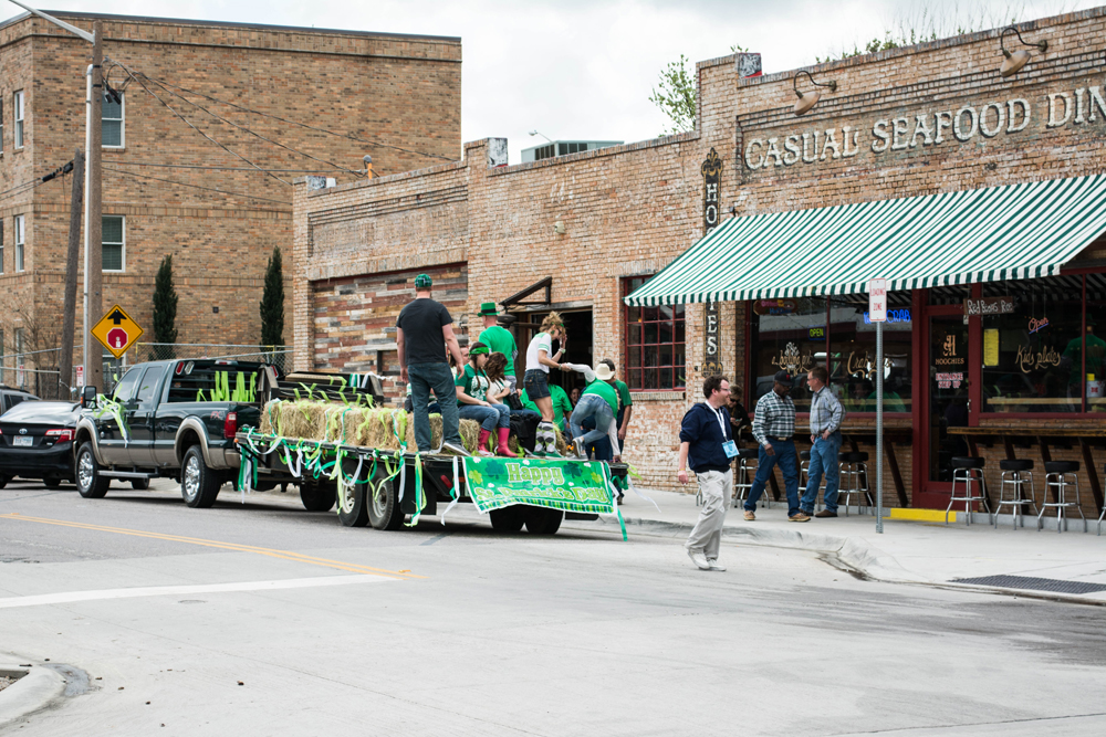 Fun St. Patrick's day truck