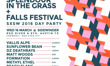 Splendour in the Grass and Falls Music and Arts Festival SXSW 2016 Day Party Announced