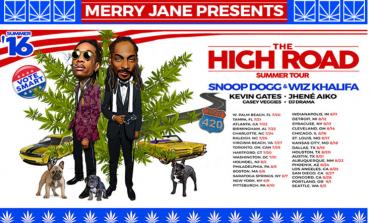 Snoop Dogg & Wiz Khalifa @ BB&T Pavilion  8/5