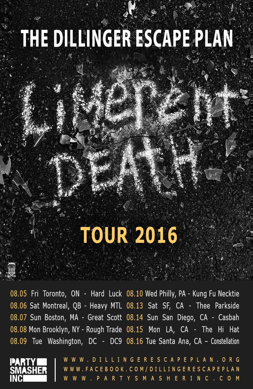 Killer Be Killed Tour Dates