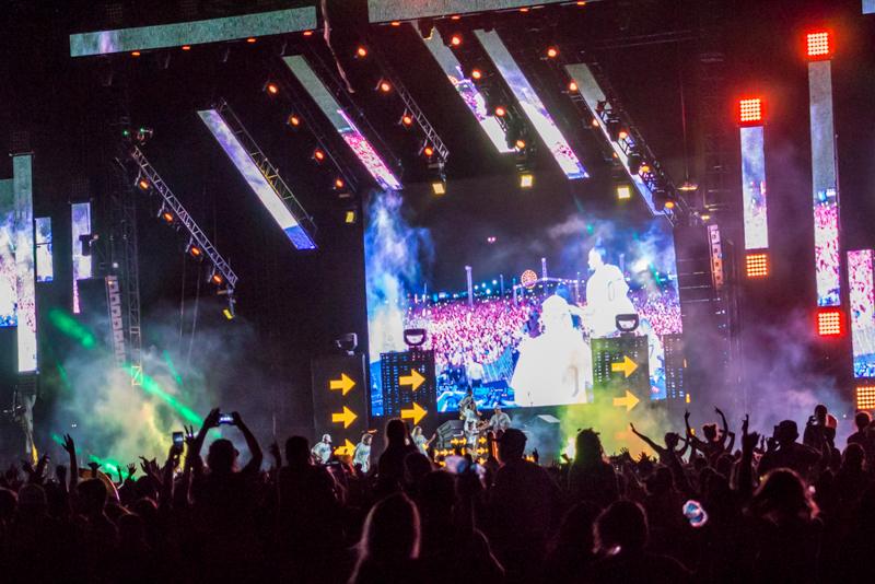 Major Lazer on Day 2 of HARD Summer Music Festival 2016