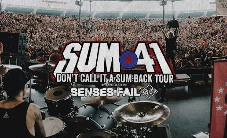 Sum 41 w/ Senses Fail @ Playstation Theater