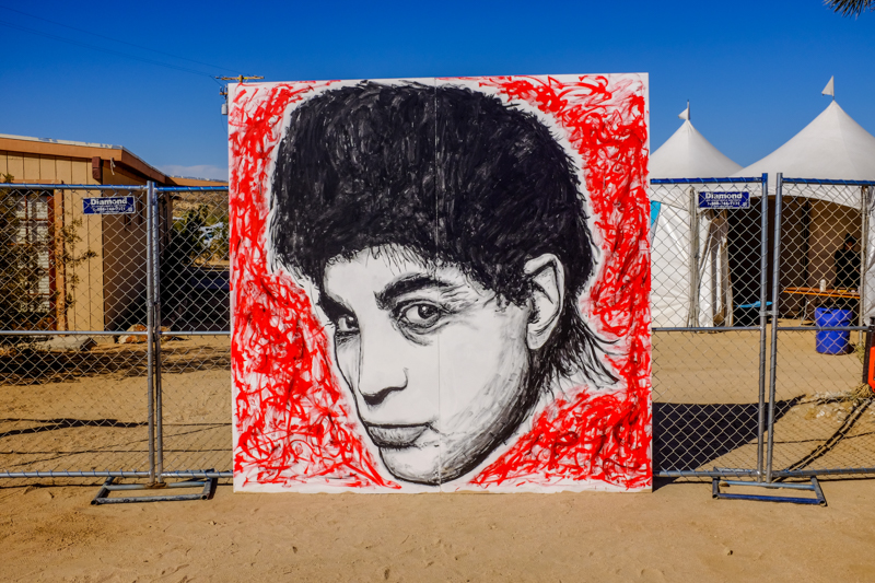 Alan Vega of the band 'Suicide'