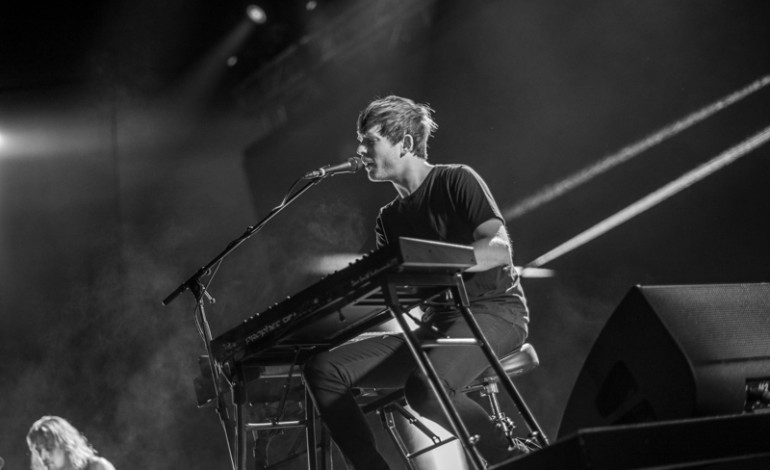 "James Blake Covers Billie Eilish's ""When the Party's Over"" in Los Angeles"