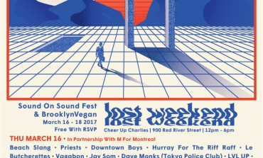 BrooklynVegan and Sound on Sound Fest present Lost Weekend SXSW 2017 Party Announced