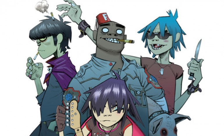 "Gorillaz Perform ""Stylo"" with Mos Def at The Meadows Music Festival"
