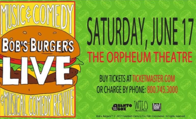 """EL VY  to Perform at """"Bob's Burgers"""" Live Show @ The Orpheum Theater"""