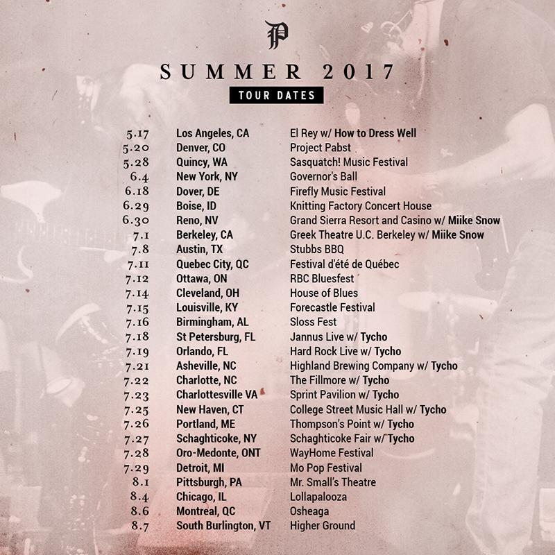 Phantogram Announce Summer 2017 Tour Dates