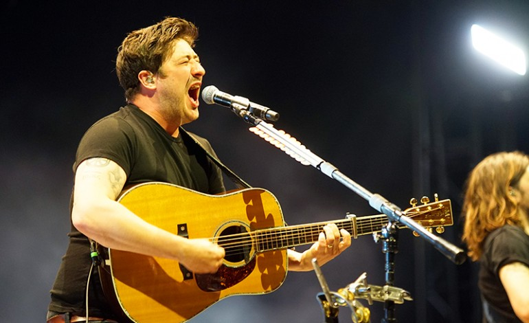 """Marcus Mumford Joins Tom Morello on Stage in Los Angeles for """"Find Another Way"""""""