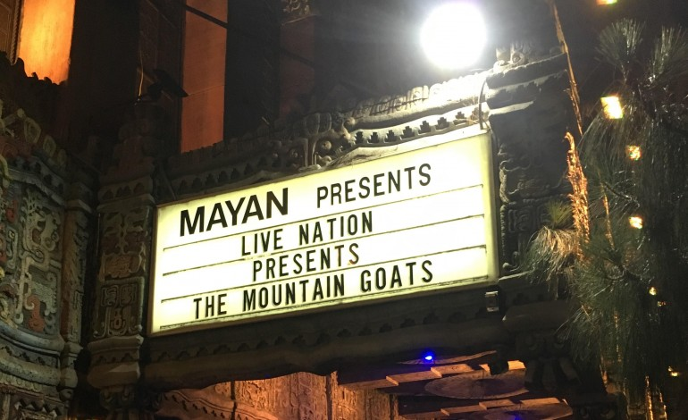 The Mountain Goats Live at the Mayan Theater, Los Angeles
