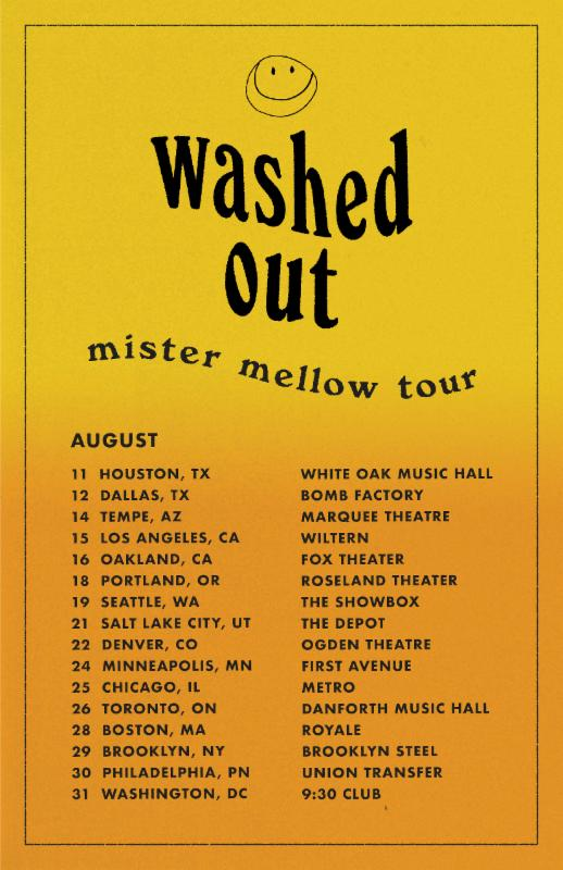 washed out tour