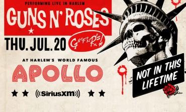 Sirius XM Presents Guns N' Roses @ Apollo Theater 7/20