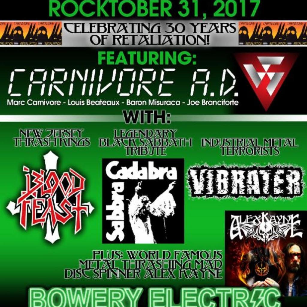 Carnivore Show Flyer