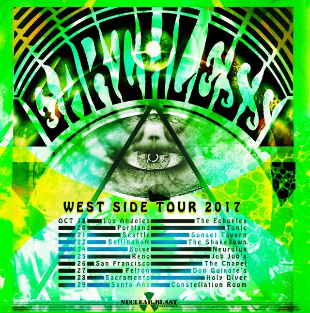 Earthless Tour Flyer