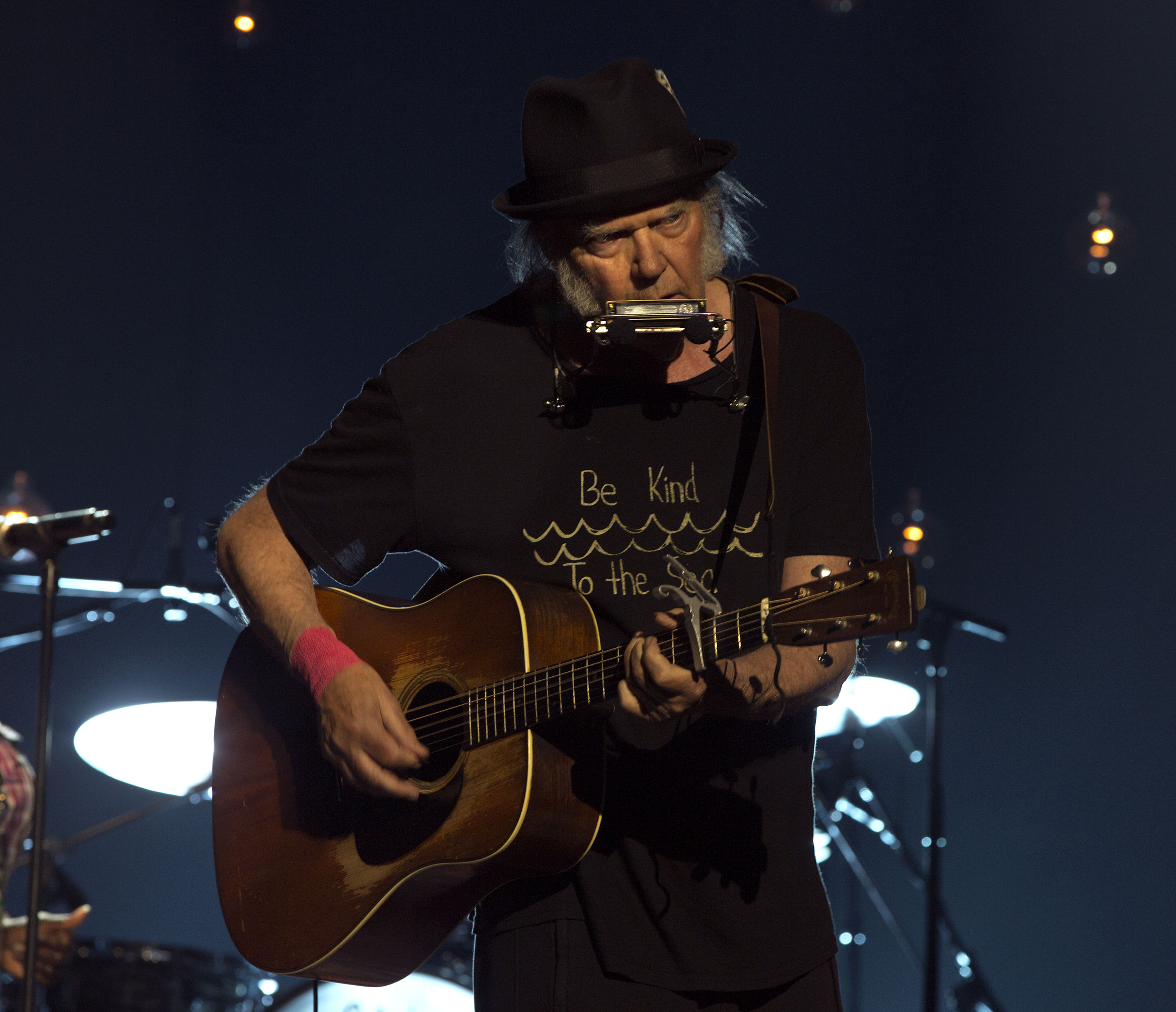 "Neil Young Performs His ""Long Lost"" Album Homegrown During Live Stream"