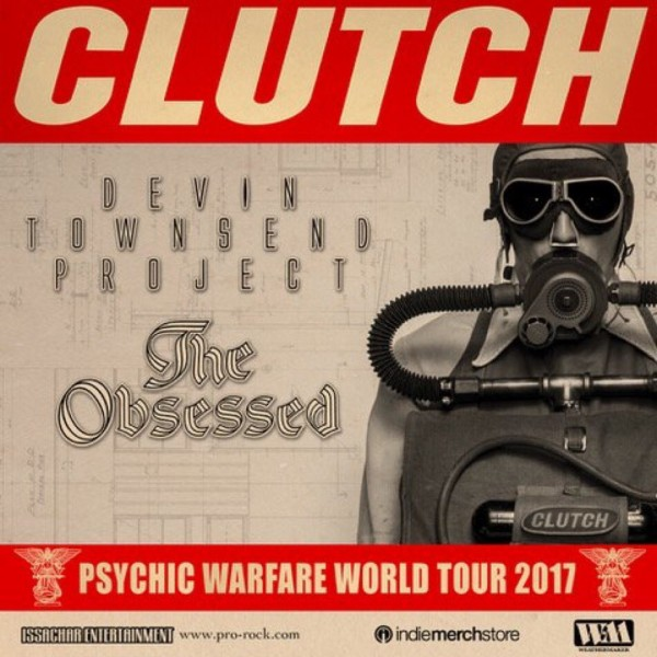 Clutch tour poster