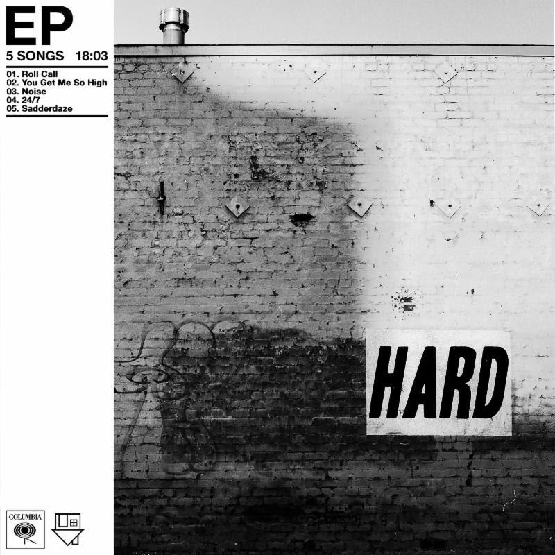 The Neighbourhood HARD EP Album ART