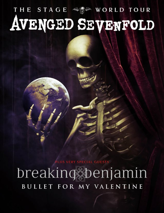 Avenged Sevenfold Tour Poster