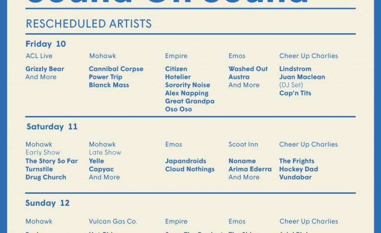 Sound On Sound Fest Rescheduled Shows