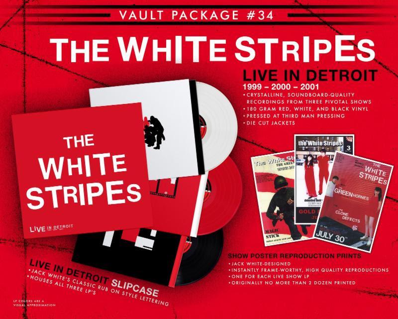White Stripes Live Album Covers