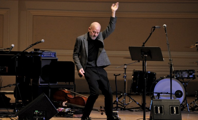 Michael Stipe Surprises Fans By Joining Patti Smith On Stage At Webster Hall