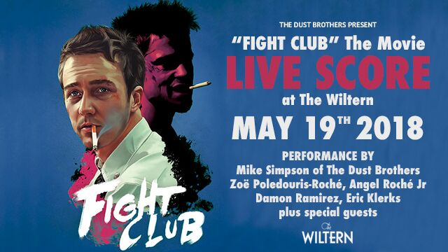 Dust Brothers Fight Club flyer