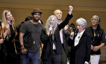 """Patti Smith Closes Out Tibet House Benefit with Performance of """"People Have The Power"""" Featuring Iggy Pop, Phoebe Bridgers, Margo Price and More"""