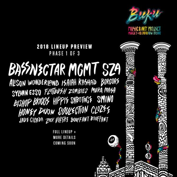 BUKU 2018 Festival Flyer