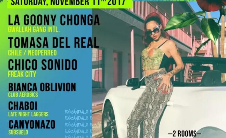 DoLA, Late Night Laggers And Jack Daniel's Present ESCÁNDALO: La Goony Chonga, Tomasa del Real, Chico Sonido, Helikonia, Bianca Oblivion, Chaboi, Canyonazo, Kidbusiness At The Bootleg Theater 11/11