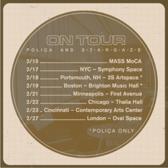 Polica Stargaze Tour Flyer