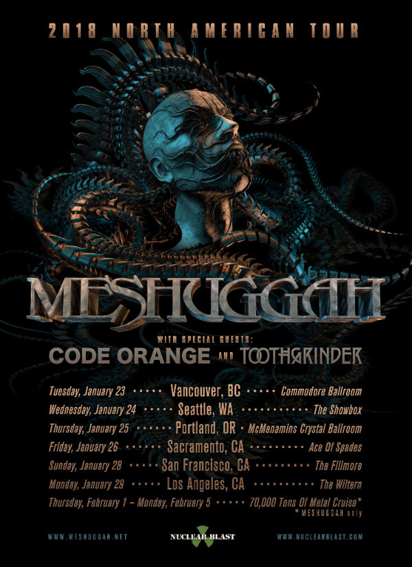 Meshuggah Who Are They Touring With