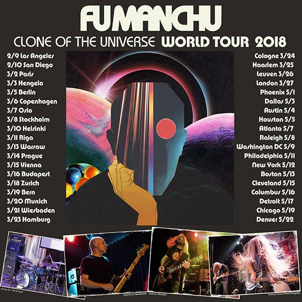 Fu Manchu Tour Dates