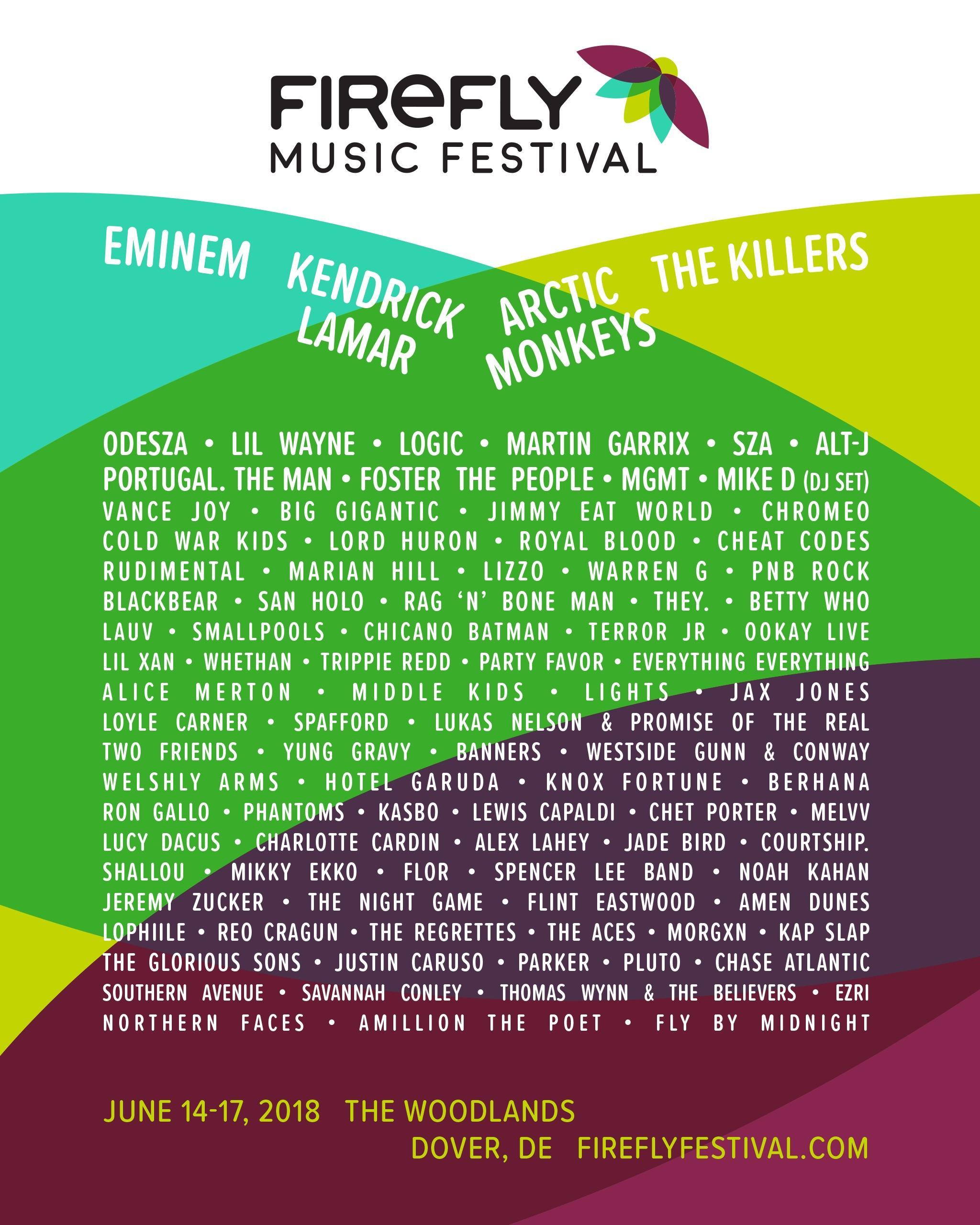 Firefly Festival Flyer