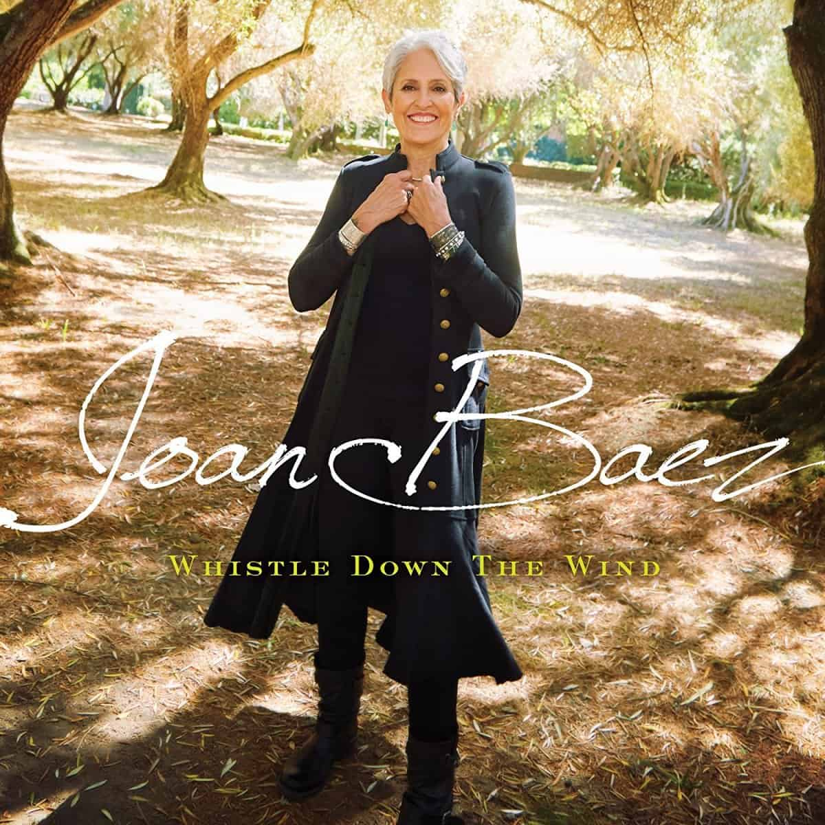Joan Baez Whistle Down The Wind Album Cover
