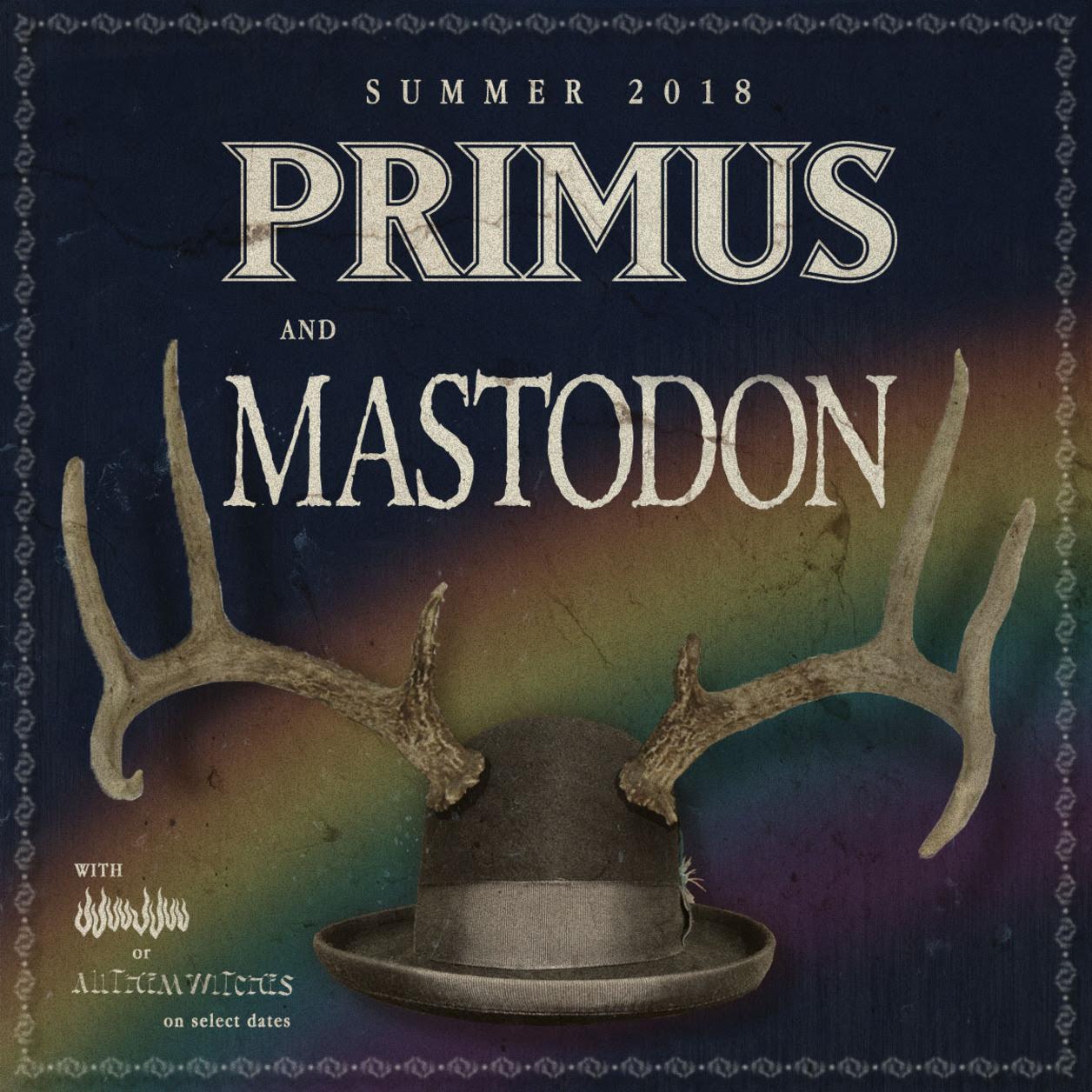 Primus Mastodon Tour FLyer