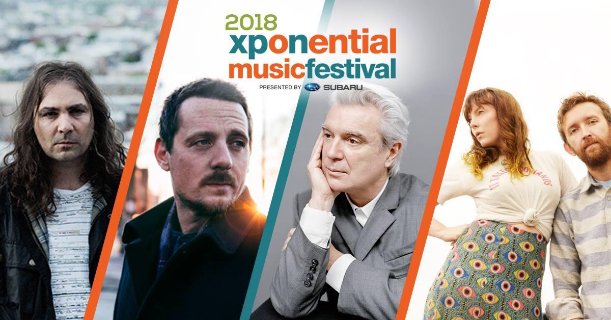 xponential festival teaser flyer