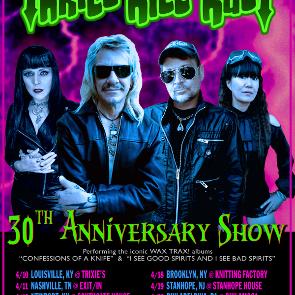 My Life With The Thrill Kill Kult Flyer 2018