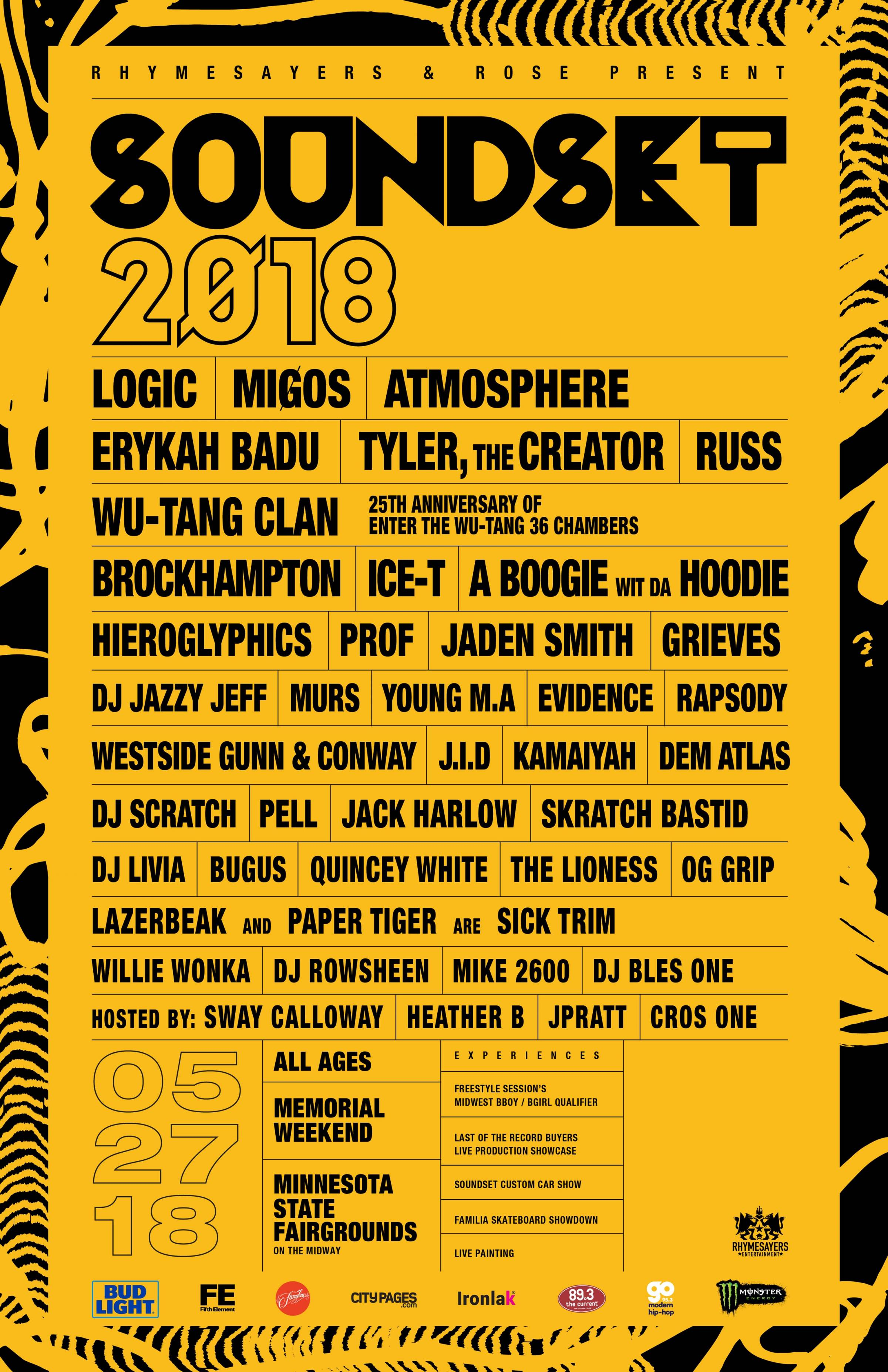Soundset 2018 Flyer