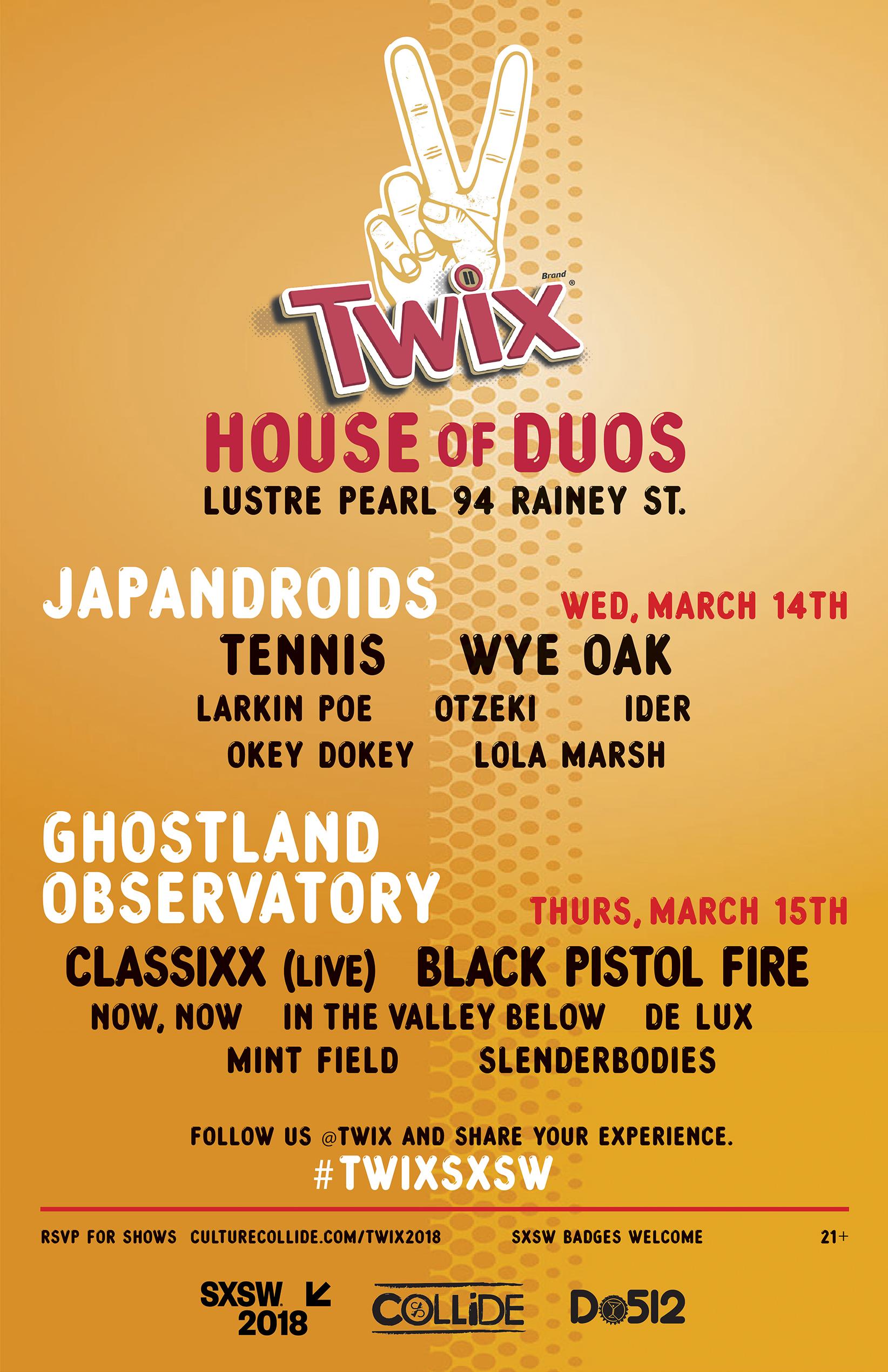 TWIX SXSW 2018 Party